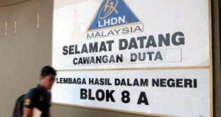 Kerajaan berharap kutipan cukai berjumlah RM127b tahun ini