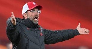 Klopp mengatakan Liverpool tidak mempunyai pemain yang cukup untuk berputar