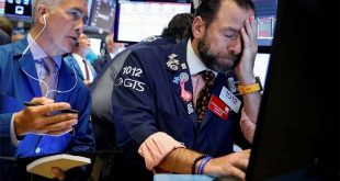 PASARAN Saham bon jatuh US tidak berubah kerana Fed takut
