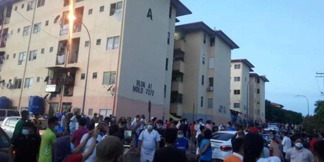 Penduduk di bawah peningkatan MCO di Lahad Datu menuntut agar