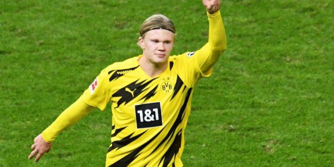 Sepadan dengan beratnya emas Dortmund memuji pemecah rekod Haaland