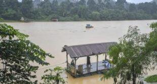 Tiga sungai di Kelantan melebihi tahap amaran